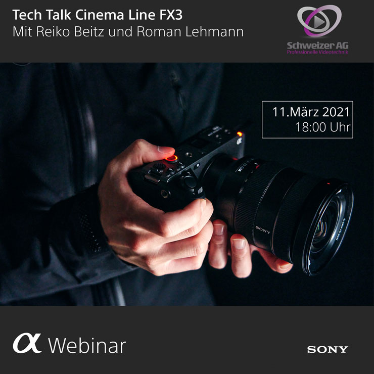 Tech Talk Cinema Line FX3